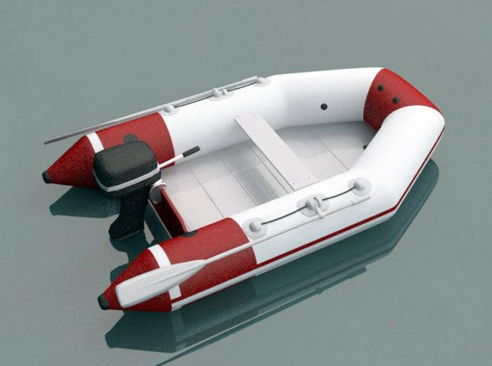 3D打印模型-浮船STL-救生艇3D模型插图1