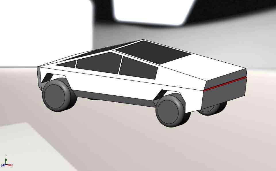 Cybertruck ...... 2019的车,为什么呢?3D打印模型