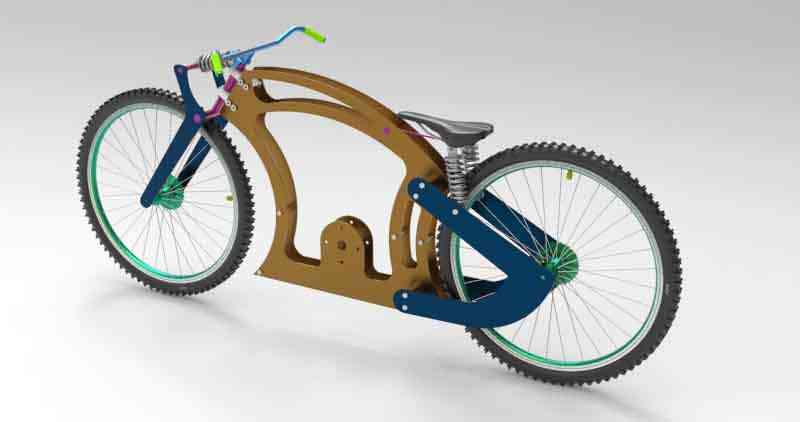 钣金CHOPPER BIKE3D打印模型 1