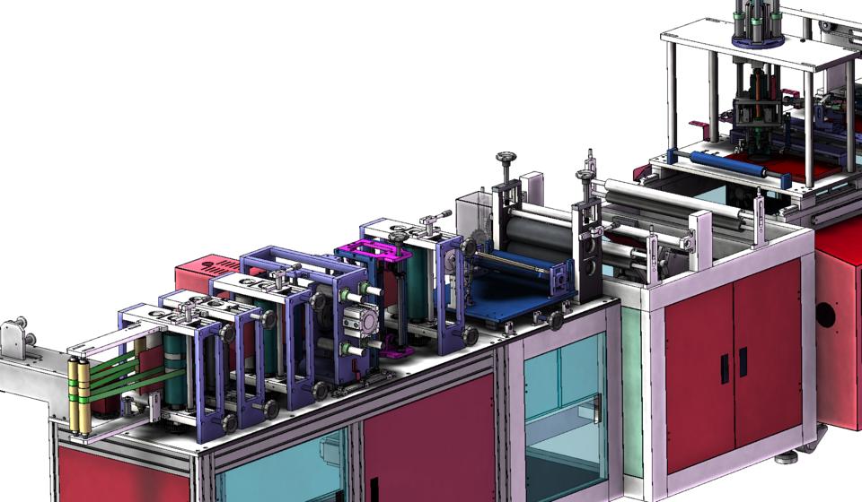 N95口罩制作机3D模型详细设计图插图7