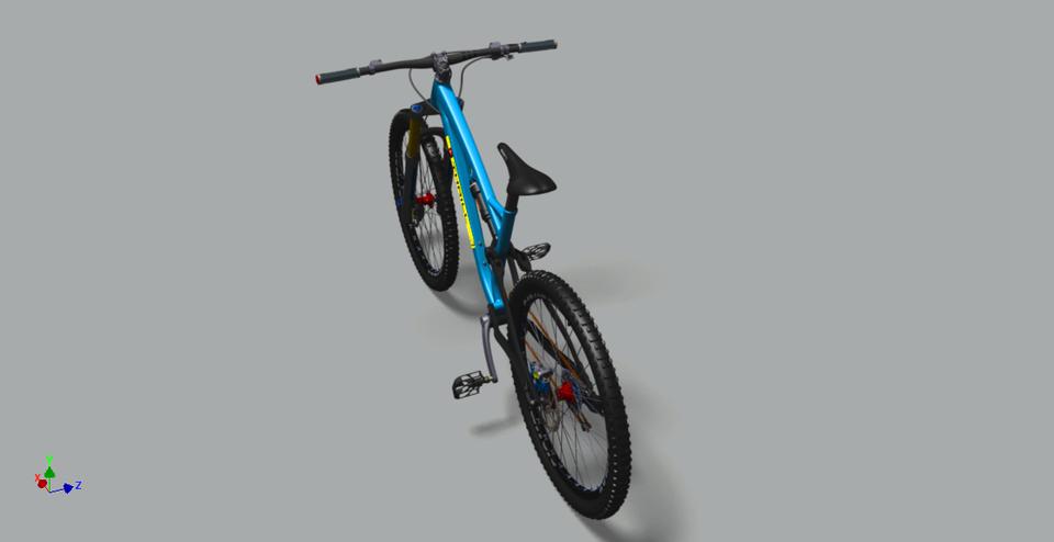 越野自行车3D打印模型插图3