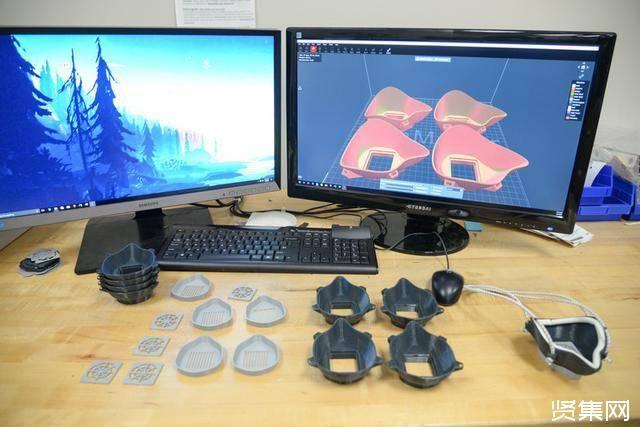 3D资源巴美军3D打印N95口罩,制造4个口罩需45小时!插图17