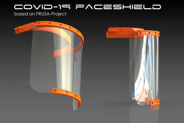 COVID-19防护面罩防飞沫