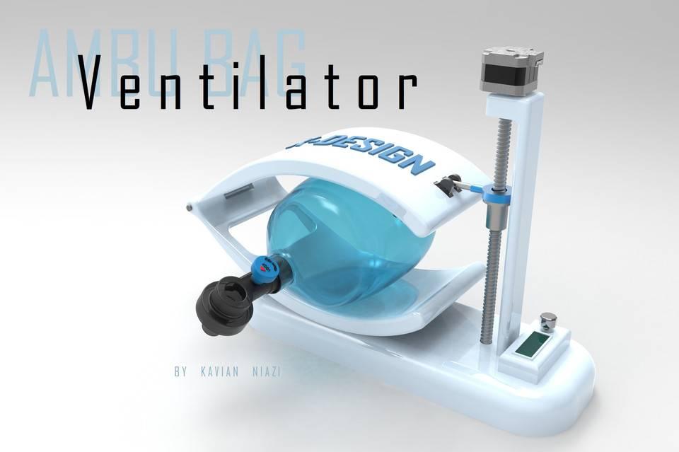 AmbuBag呼吸机(COVID-19危机) 1