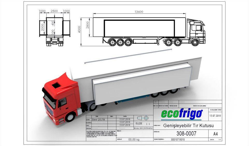 卡车车斗3D打印模型插图1