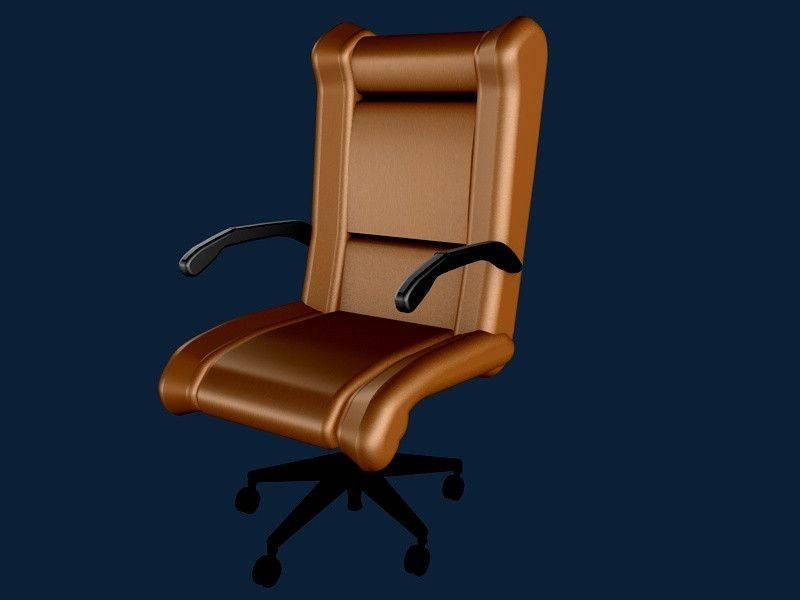 办公椅维迪奇佩特科夫3D打印模型插图1