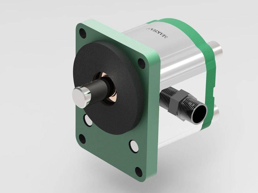 液压马达3D打印模型插图1