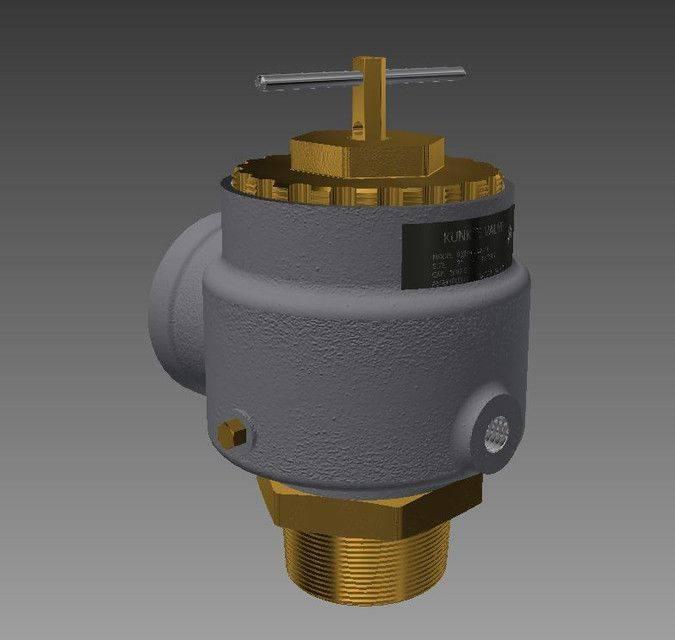 1587650033-c9494e5d714bb00.jpg-插件-Kunkle的泄压阀型号3373D打印模型