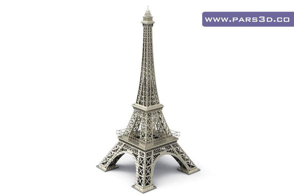 埃菲尔铁塔3D打印模型插图1