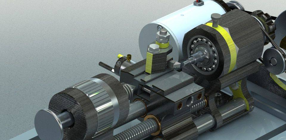 1587650044-8d5889ed4327f87.jpg-插件-转动装置用于铣床。3D打印模型