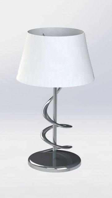 灯的设计3D打印模型插图1