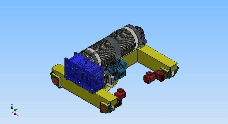 车天车3D打印模型插图1
