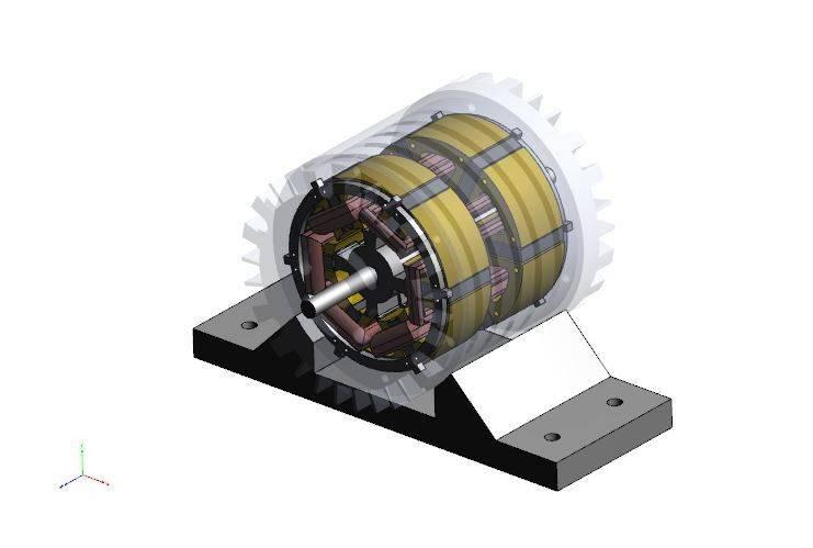 EV引擎3D打印模型插图1