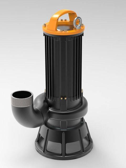 潜水离心泵3D打印模型插图1