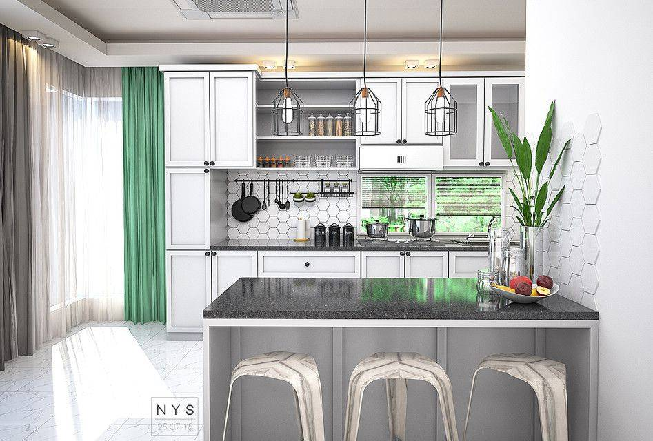 现代厨房DECOR3D打印模型插图1