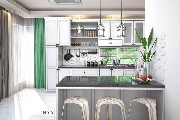 现代厨房DECOR3D打印模型