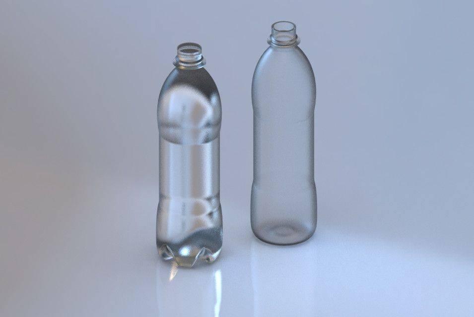 百事可乐瓶草案3D模型3D打印模型插图1