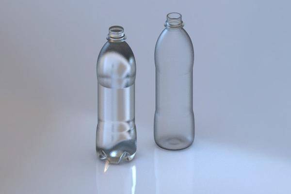 百事可乐瓶草案3D模型3D打印模型