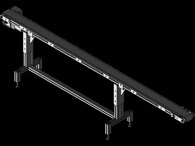 皮带输送机3D打印模型插图1