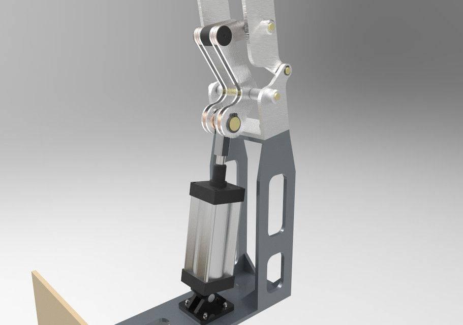 转动臂3D打印模型插图1
