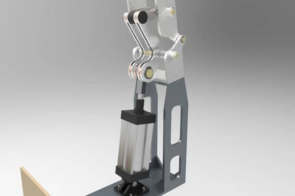 转动臂3D打印模型