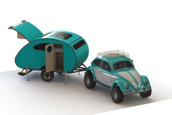 大篷车出征3D打印模型