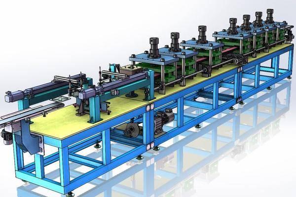 成型机3D打印模型