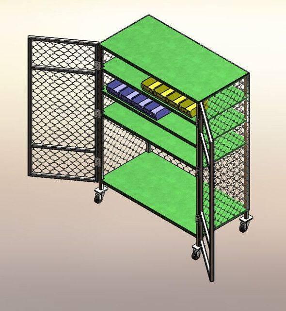 工具架3D打印模型插图1