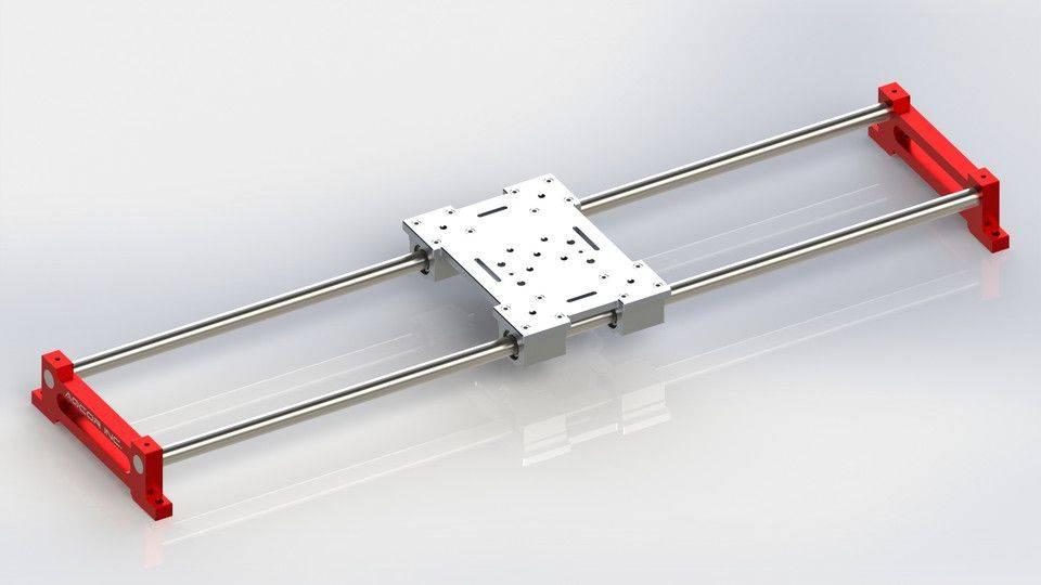 相机滑块轨道3D打印模型插图1