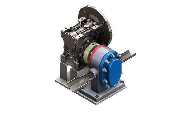 转子泵与变速箱3D打印模型