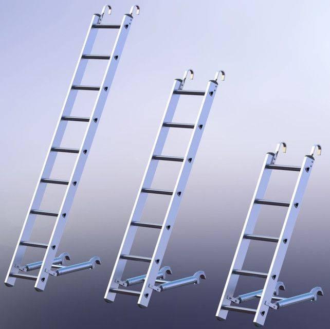 SCAFFOLDING-梯子 -  2 \3D打印模型插图1