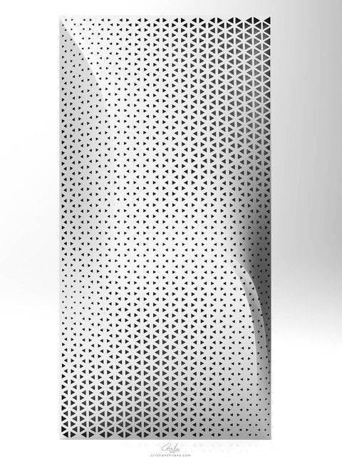 线和点在模块化表面|蝈蝈3D打印模型插图1