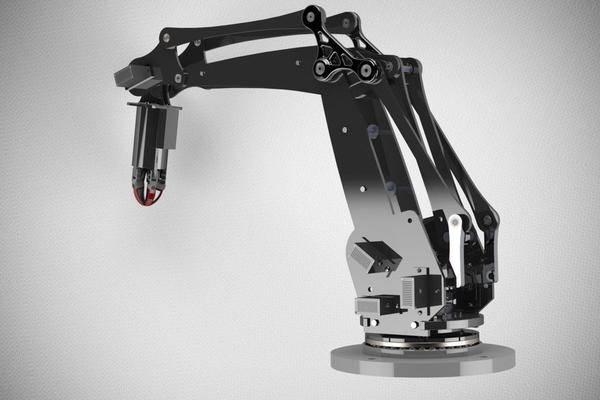 低成本机械臂3D打印模型