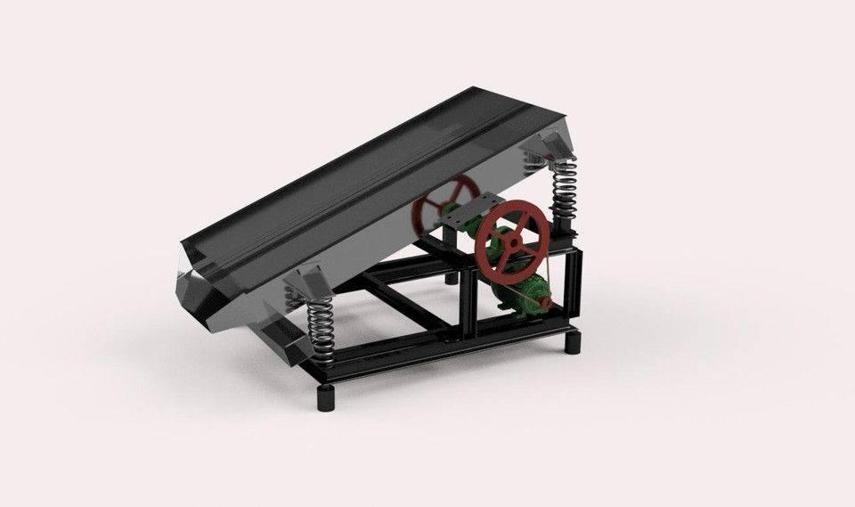 重力分离器3D打印模型插图1