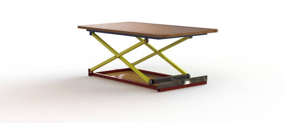 剪刀升降台(100公斤)3D打印模型插图1
