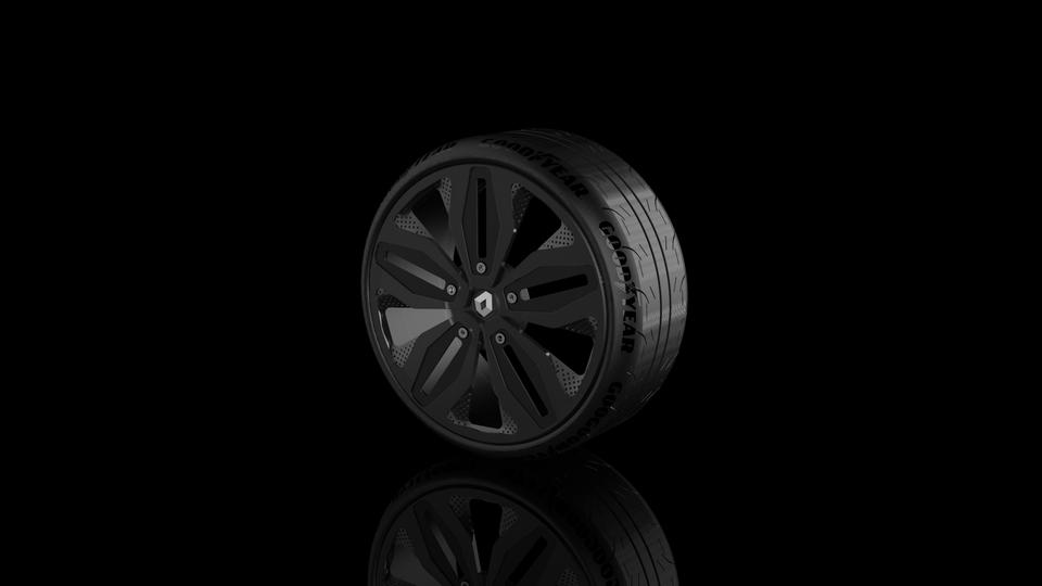 雷诺轮3D打印模型