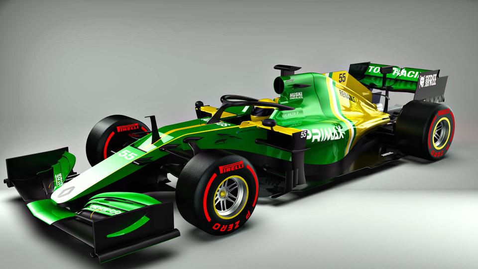 F1赛车3D打印模型插图1