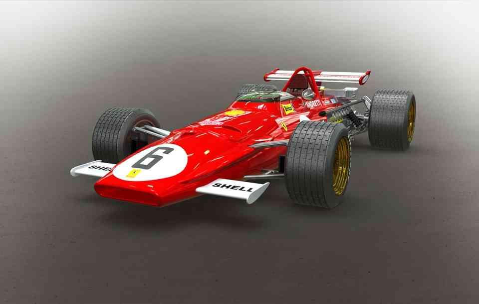 法拉利312B3D打印模型插图1