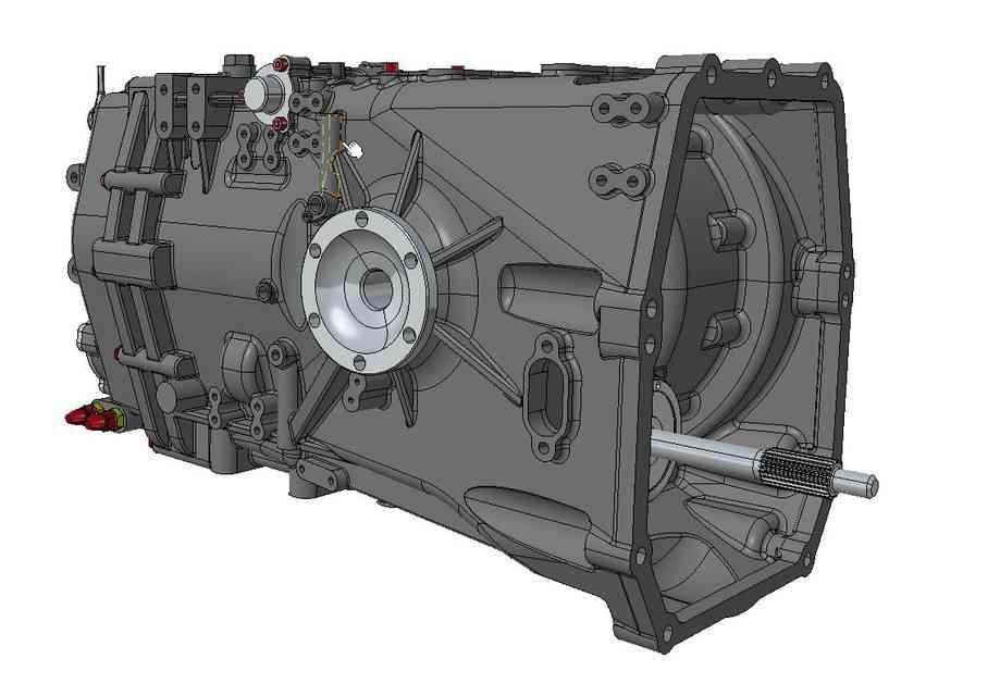 Hewland LWS-200半自动空间声明3D打印模型