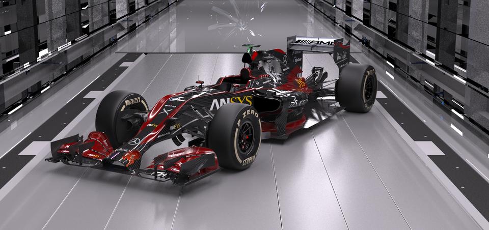 F1 20143D打印模型