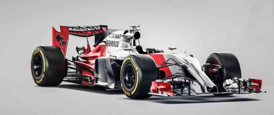 F1 20163D打印模型插图1