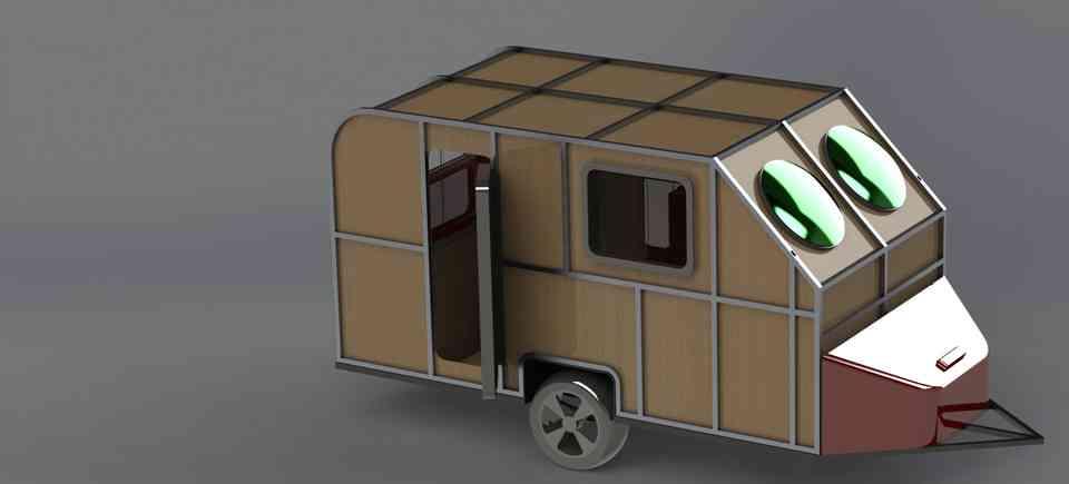 大篷车/噪音设计3D打印模型插图1