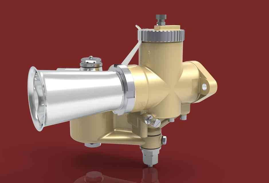 AMAL GP3化油器3D打印模型