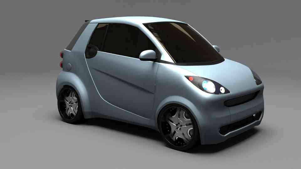 智能车辆3D打印模型 1