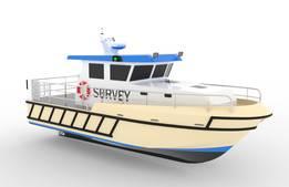 11米医疗船3D模型 1