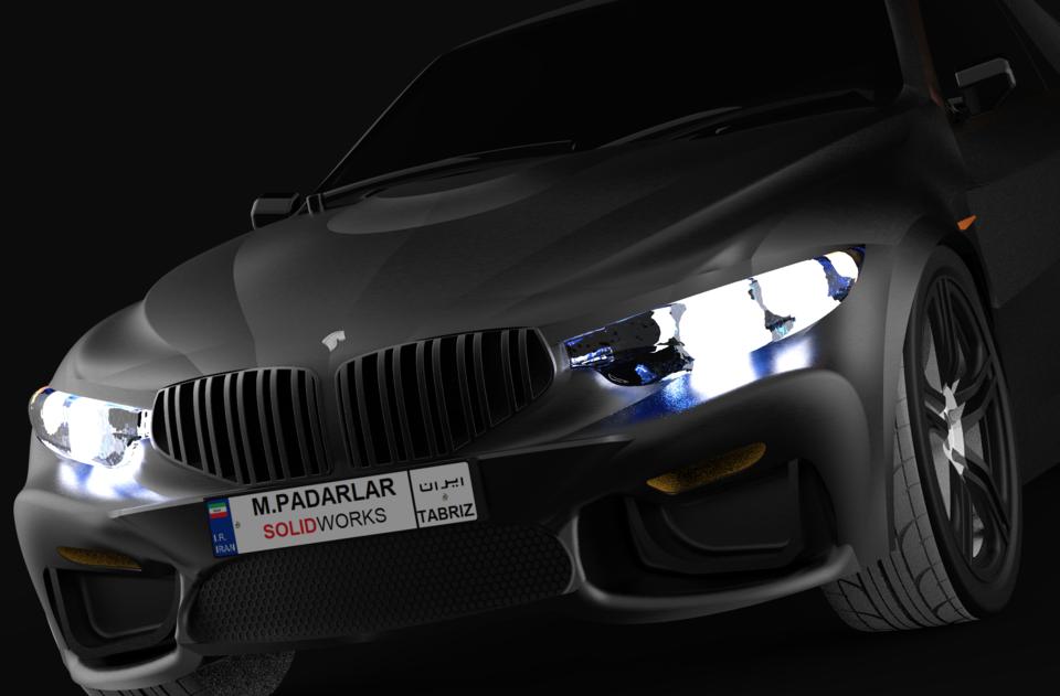 IKCO.MAB(穆罕默德)3D打印模型 1