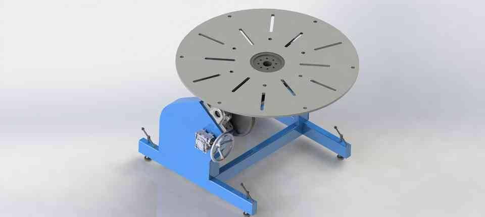 2轴焊接变位3D打印模型插图1