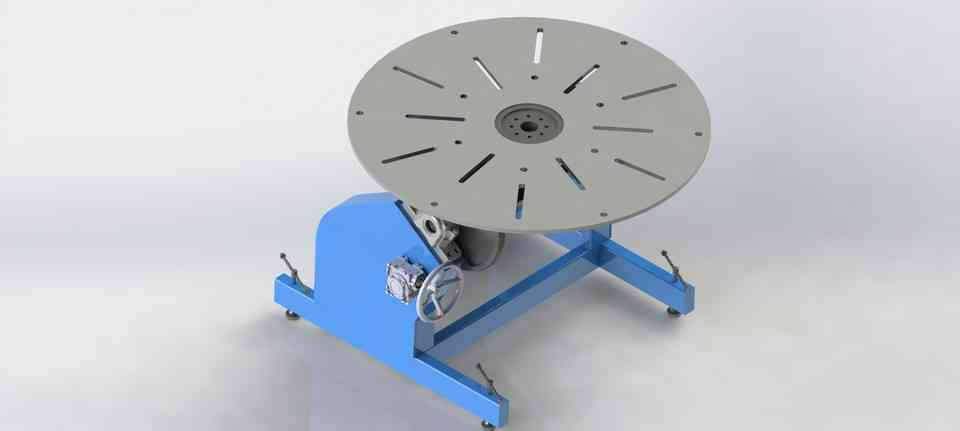 2轴焊接变位3D打印模型