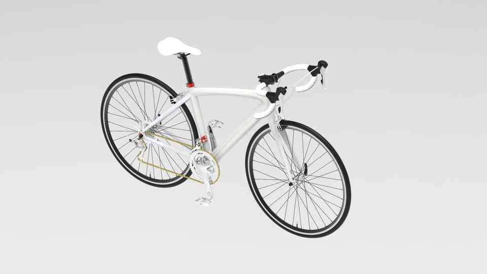 自行车运动3D打印模型插图1
