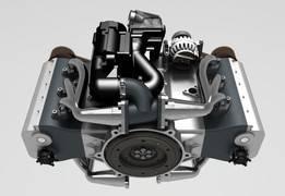 水平对置发动机6缸